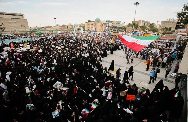 اجتماع «اجازه نمیدهیم» تجمعی خودجوش ضد زیادهخواهی غربیها است