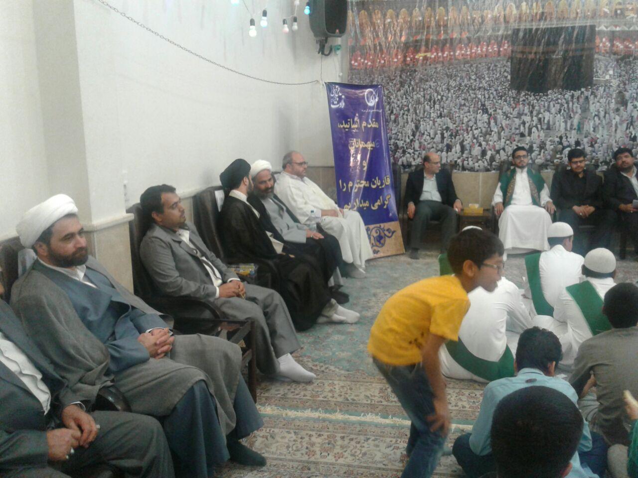 گزارش تصویری / حضور حجت الاسلام پژمان فر در محفل انس با قرآن