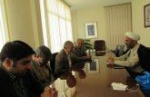 جلسه پژمان فر با کتابداران