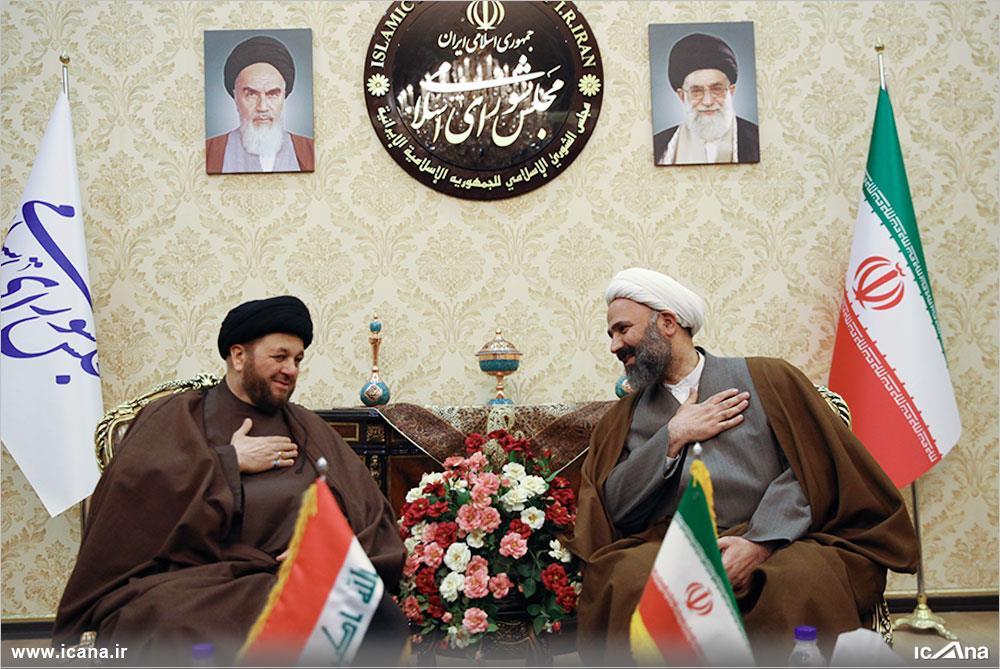 گزارش تصویری/دیدار پژمانفر با هیات پارلمانی عراق