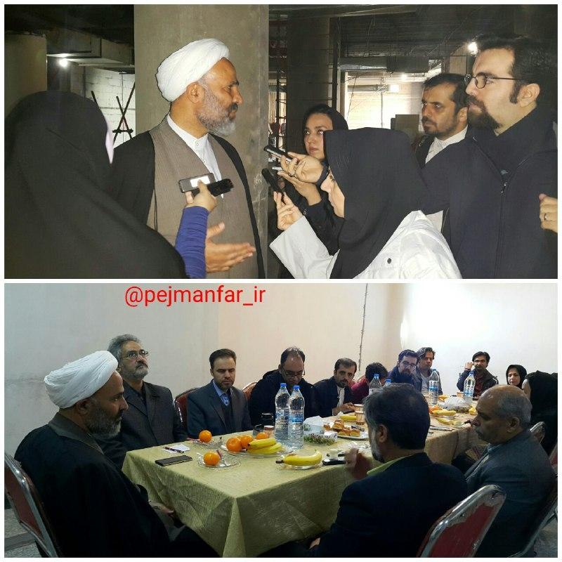 پژمانفر نماینده مردم مشهد و کلات: نمیگذاریم پروژه کتابخانه مرکزی حتی یک روز تعطیل شود