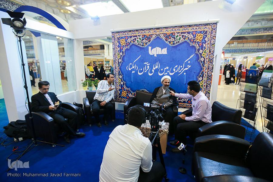 پژمانفر در غرفه ایکنا: همه کارکنان دولتی آموزش روخوانی و روانخوانی قرآن خواهند دید