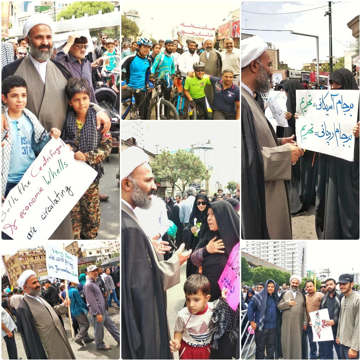 پژمانفر: مردم با حضور در راهپیمایی، انزجارشان را از اعمال خبیثانه صهیونیستها نشان دادند
