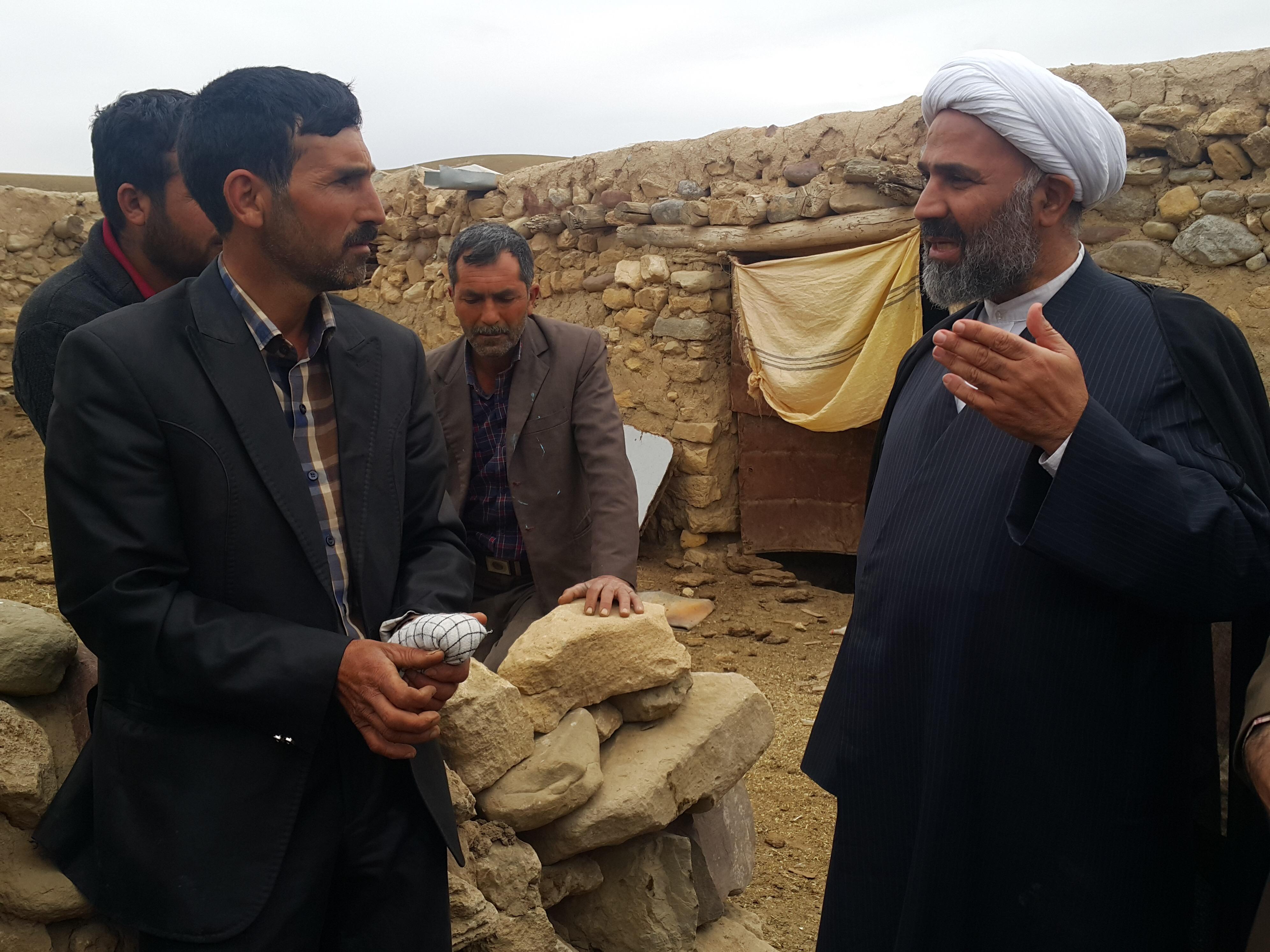 گزارش تصویری/بازدید میدانی حجتالاسلام پژمانفر از عشایر کلات