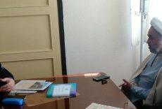 دیدار رئیس دانشکده علوم قرآنی مشهد با حجت الاسلام پژمانفر