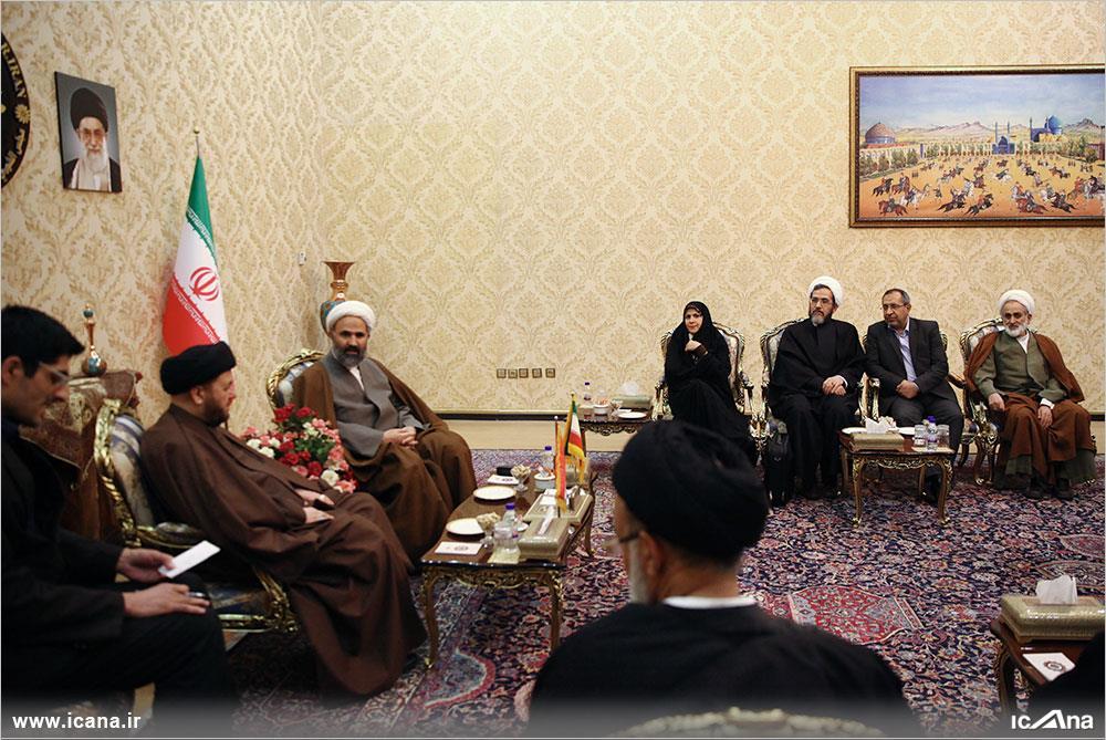 دیدار با هیات پارلمانی عراق
