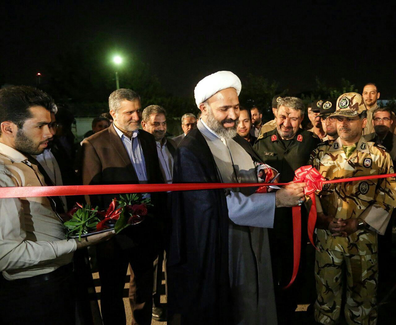 گزارش تصویری/افتتاح نمایشگاه دفاع همچنان باقیست