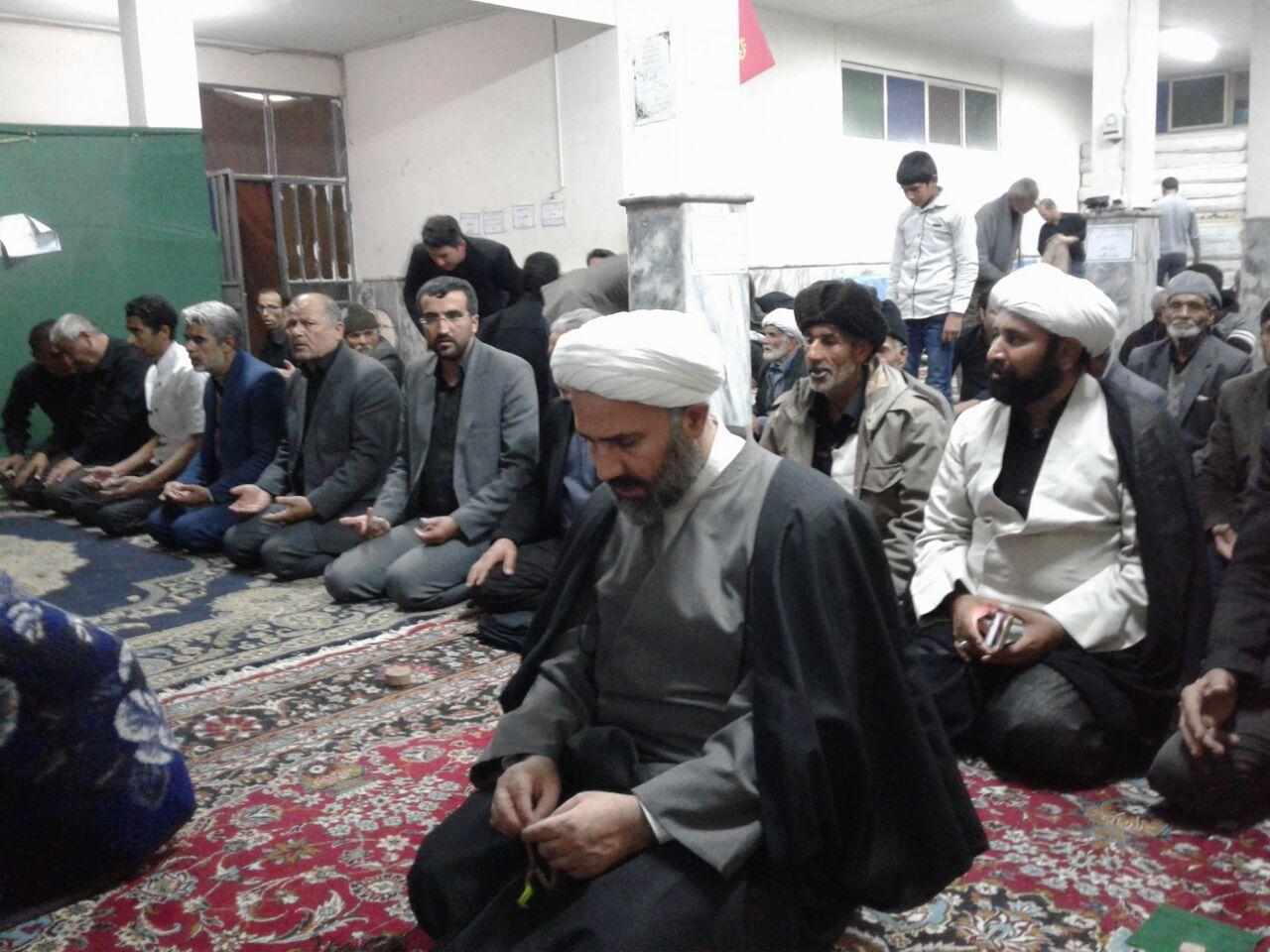 حضور حجت الاسلام پژمان فر در جمع گرم و صمیمی مردم شهر قاسم آباد