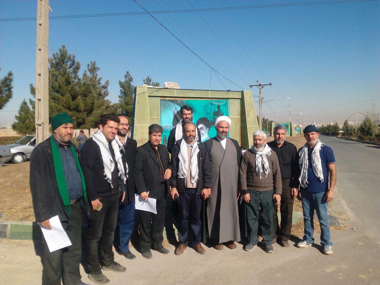 بازدید رئیس کمیسیون فرهنگی از طرح تاکسی صلواتی در مشهد