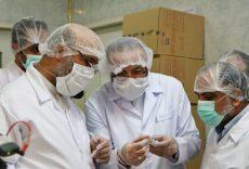 بازدید حجت الاسلام پژمانفر از کارخانه