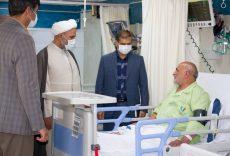 بازدید حجت الاسلام پژمانفر از بیمارستان هفده شهریور