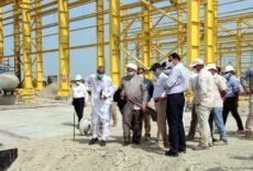 بازدید نظارتی حجتالاسلام پژمانفر از پروژه انتقال نفت «گوره -جاسک»